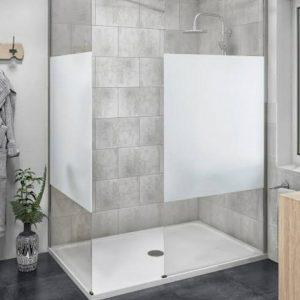 Cabine de douche Vitrine Porte automatique